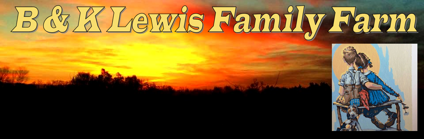 B K Lewis Family Farm Header